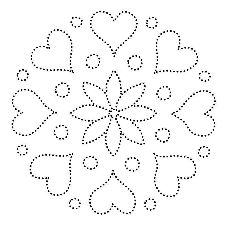 Mandala | StitchingCards | Pinterest | Mandalas, Bordado y Patrones