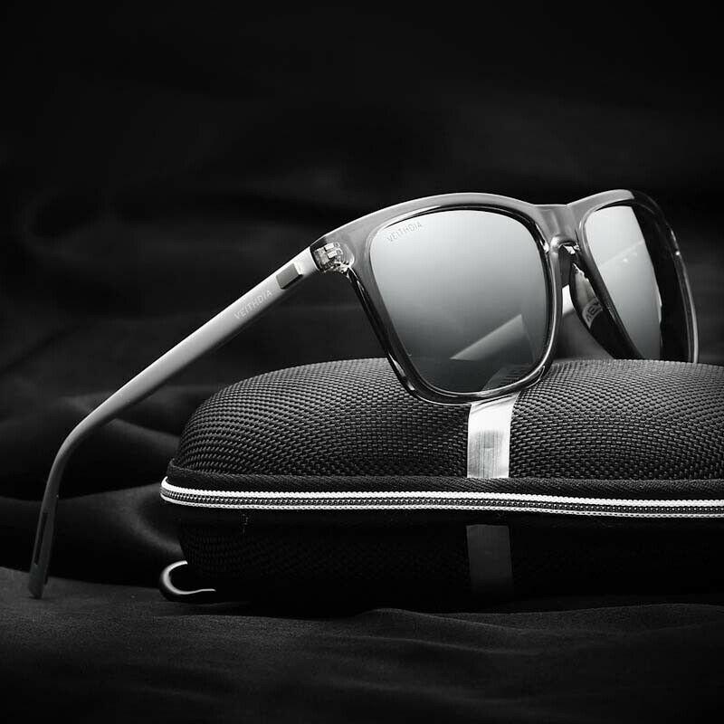 Aluminium HD Polarized Driving Sunglasses Men Sports Outdoor Sun Glasses Eyewear