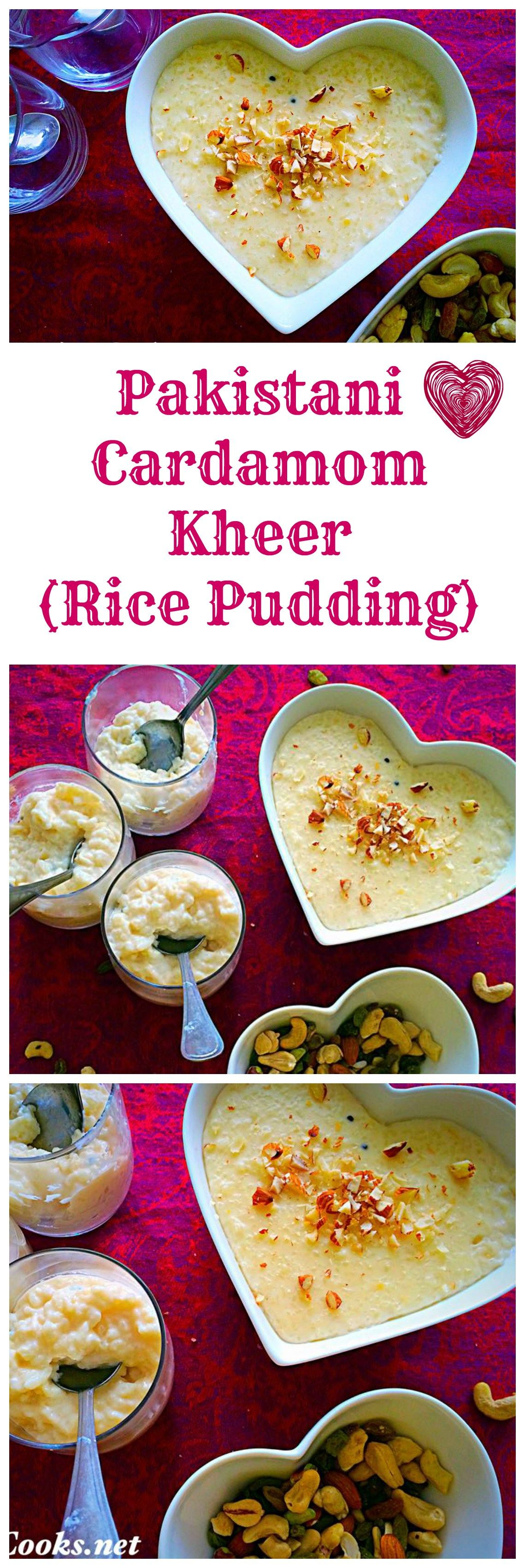 Kheer - Cardamom Flavoured Rice Pudding | Recipe | Rice ...