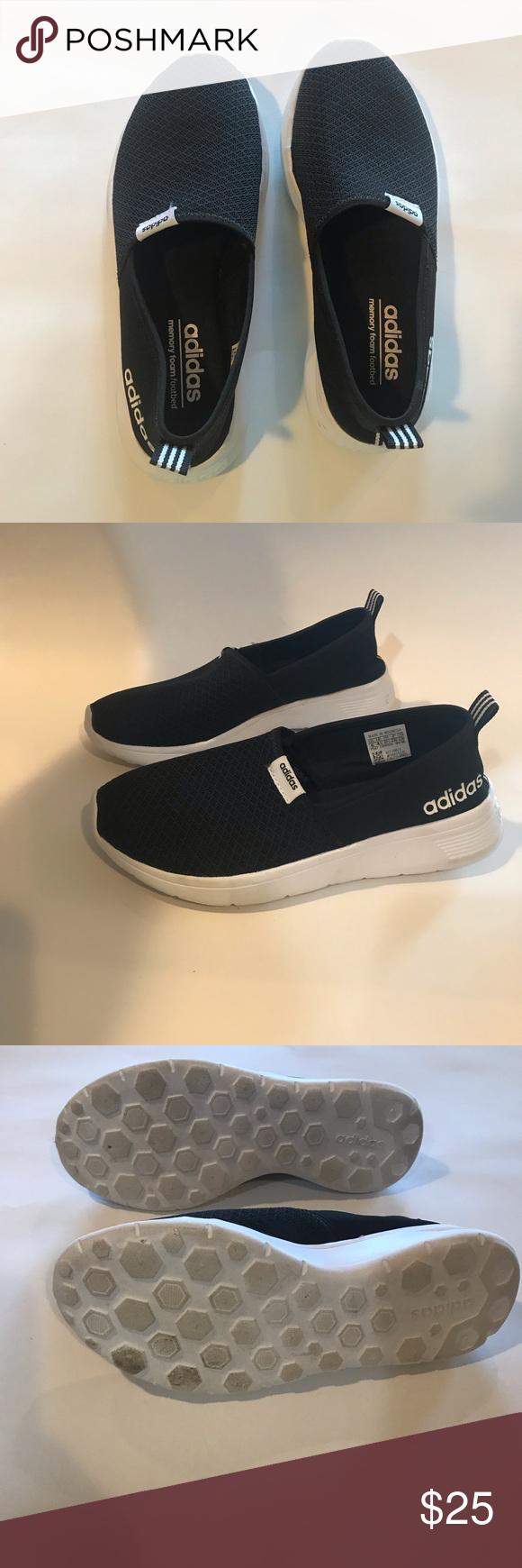 Girls' Adidas memory foam shoes