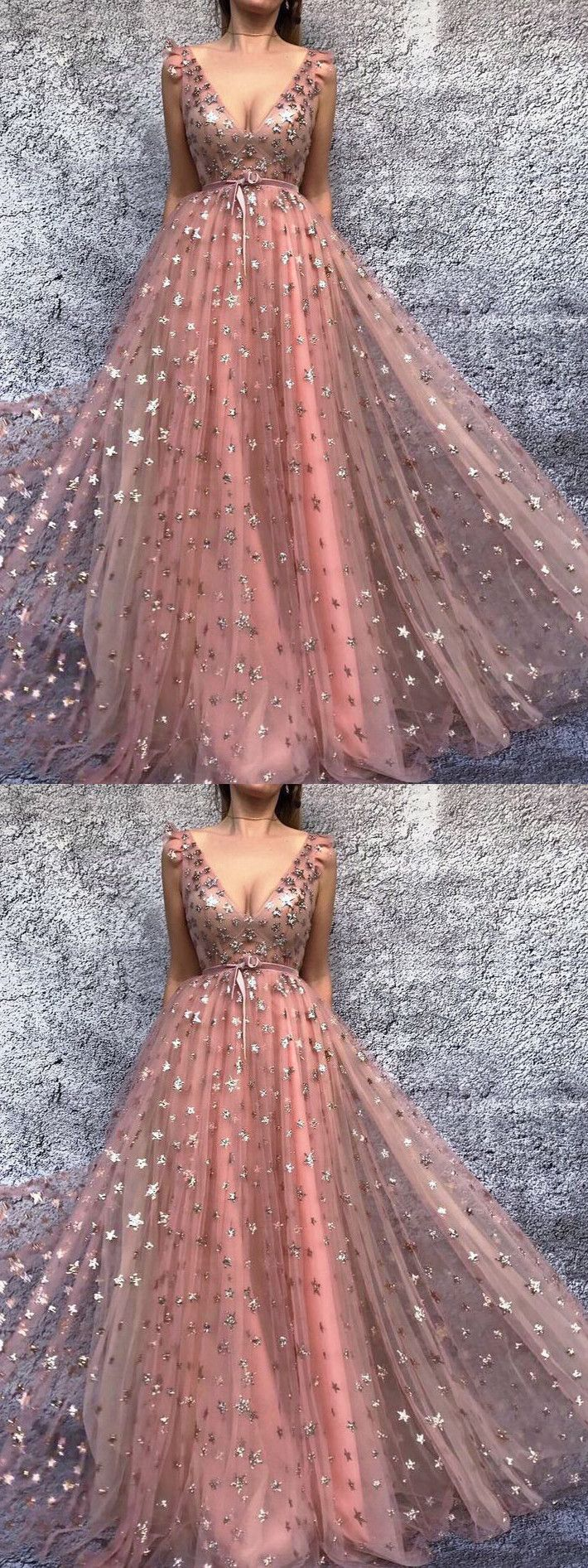 v neck prom dress lace cheap long prom dress vb ruha