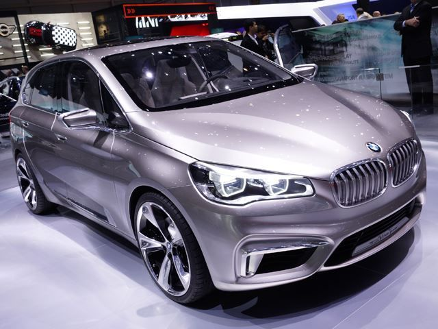 New Bmw Active Tourer Concept Car Concept Cars Bmw
