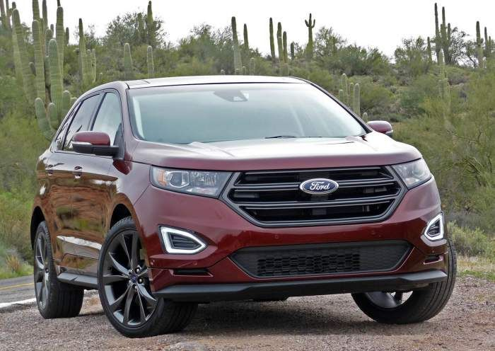 2018 Ford Edge Redesign Specs Refresh Ford Edge Ford Edge Sport Ford