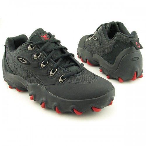 Oakley Teeth Low Sneakers Shoes Black Mens Rugged