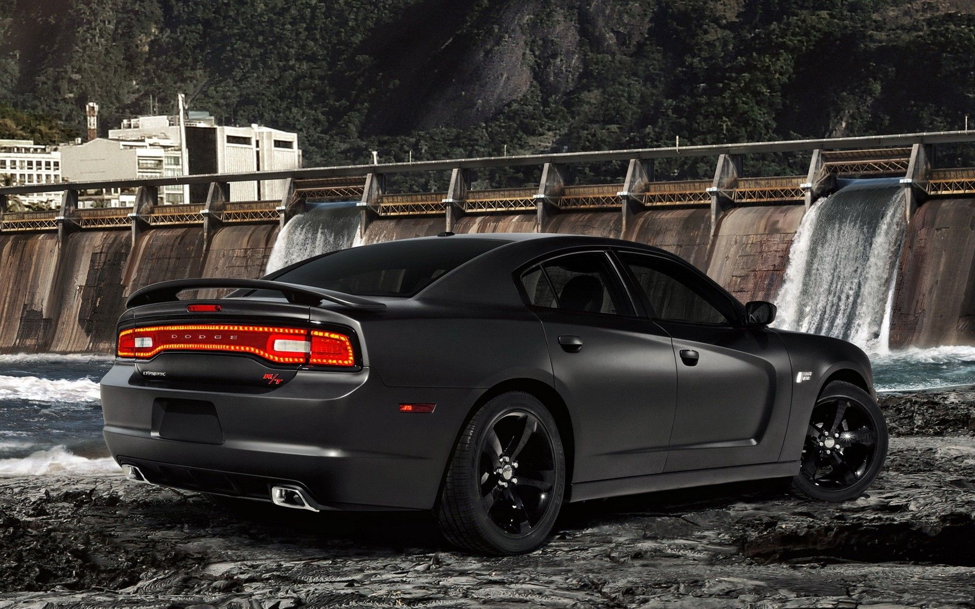 Charger RT Matte Black | Cars | Pinterest | Charger rt ...