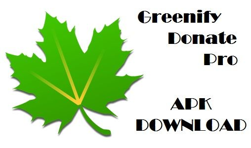 greenify donation package apk 2018