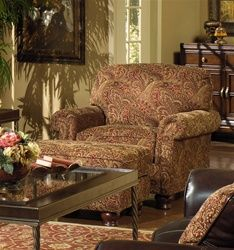 Oxford Accent Chair Flowery Fabric By Jackson Furniture 707 27 Jackson Furniture Furniture Accent Chairs