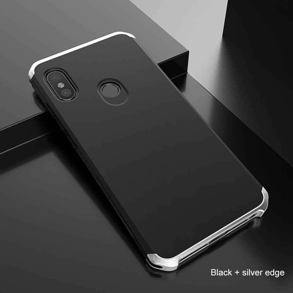 For Xiaomi Redmi Note 5 Case Luxury Alumnum Metal Bumper Hard Pc Screw Cover Case For Xiaomi Mi Note 3 Redmi Note 5 Pro Case Xiaomi Case Cover Note 5