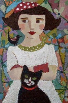Veľký vankúš dvojfarebná mačka - žlto-zelené oči.