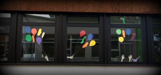 Endlich pause 2 0 schule 1 2 kunst grundschule - Fensterdeko herbst grundschule ...