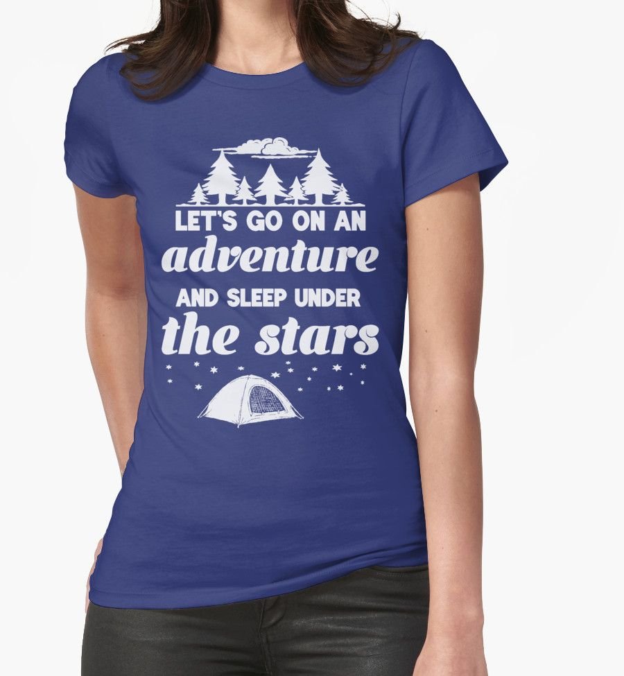 Lets go on an adventure and sleep under the stars camping t shirt lets go on an adventure and sleep under the stars camping t shirt buy at gamestrikefo Image collections