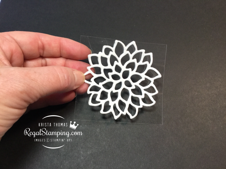 Making Stamps from Die Cuts Technique #stampmaking