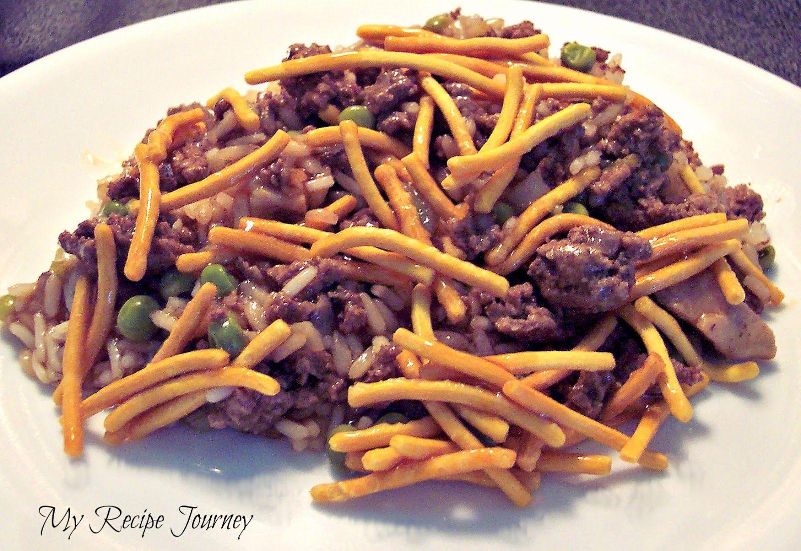 My Recipe Journey: Chinese Casserole   Ground beef ...