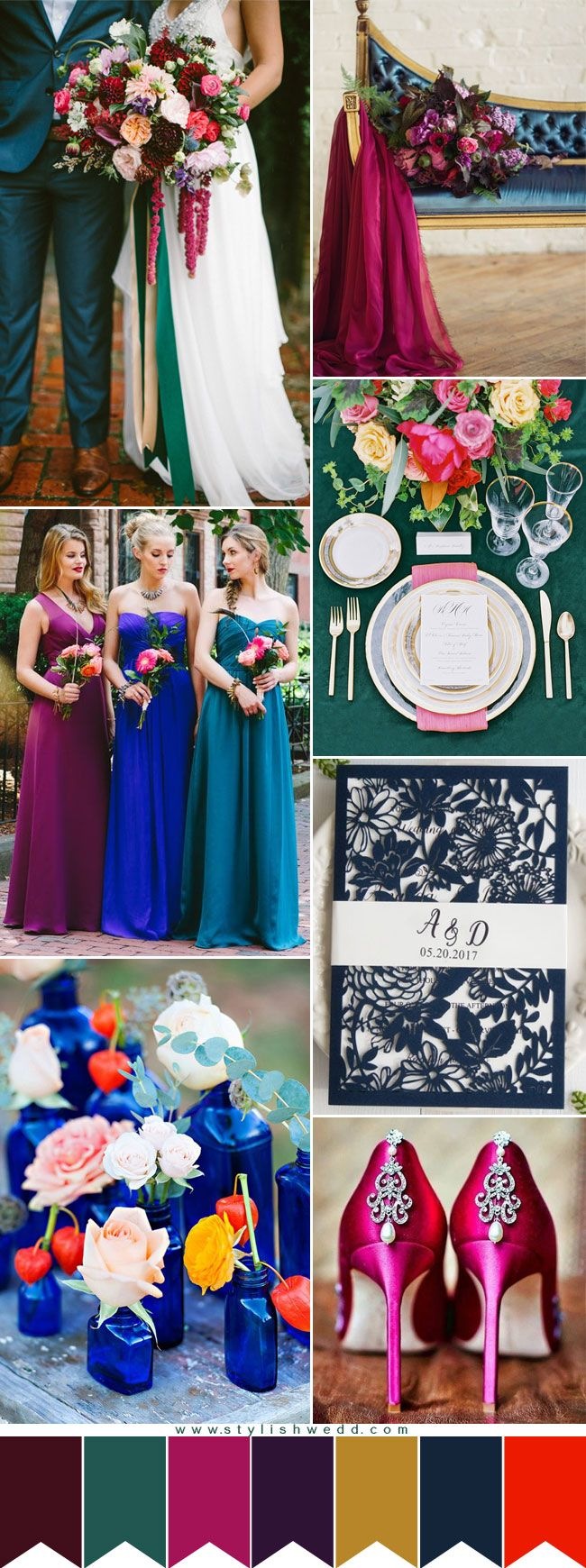 edfa6d7805def Top 10 Perfect Grey Wedding Color Combination Ideas for 2017 Trends .