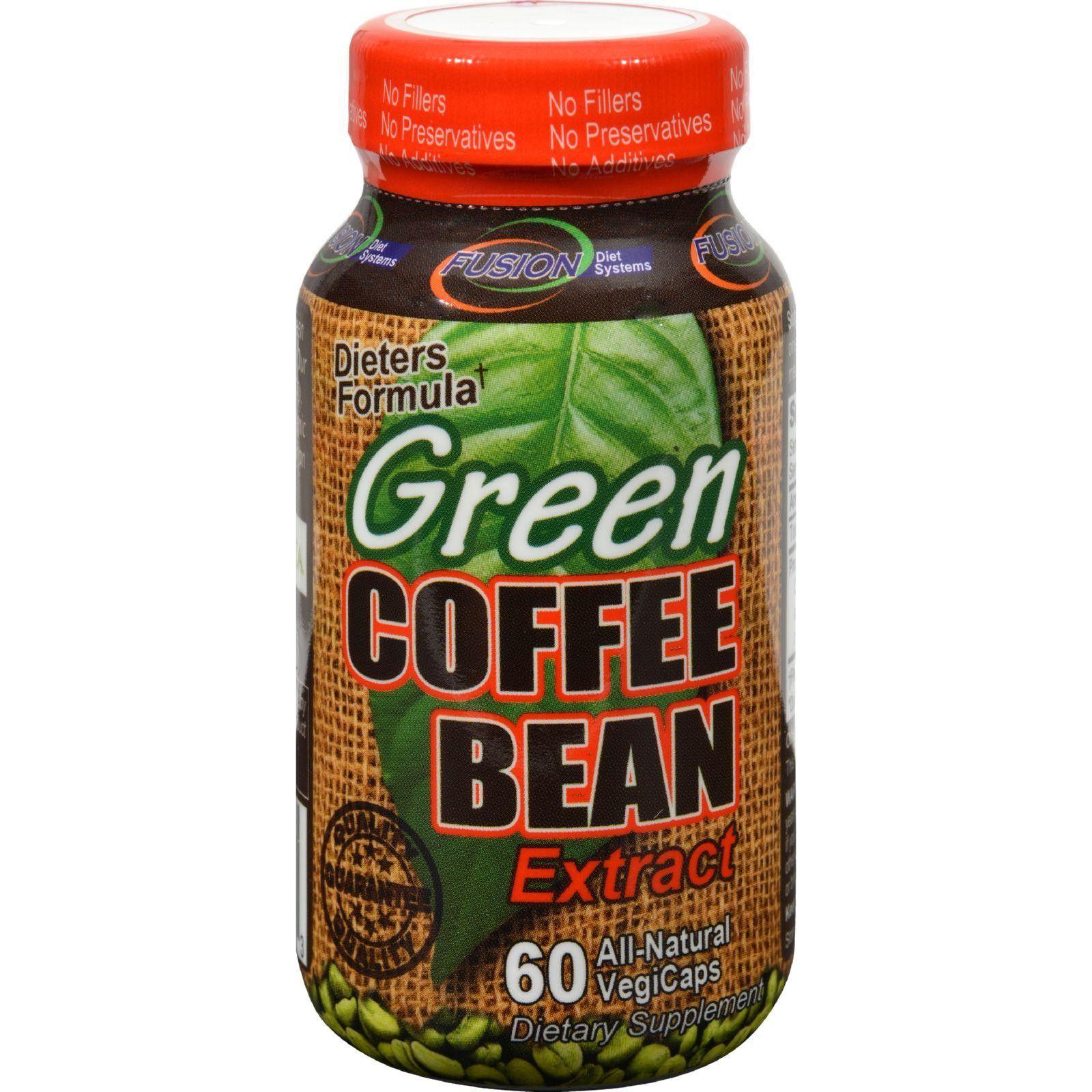Fusion Diet Systems Green Coffee Bean Extract - 60 ...