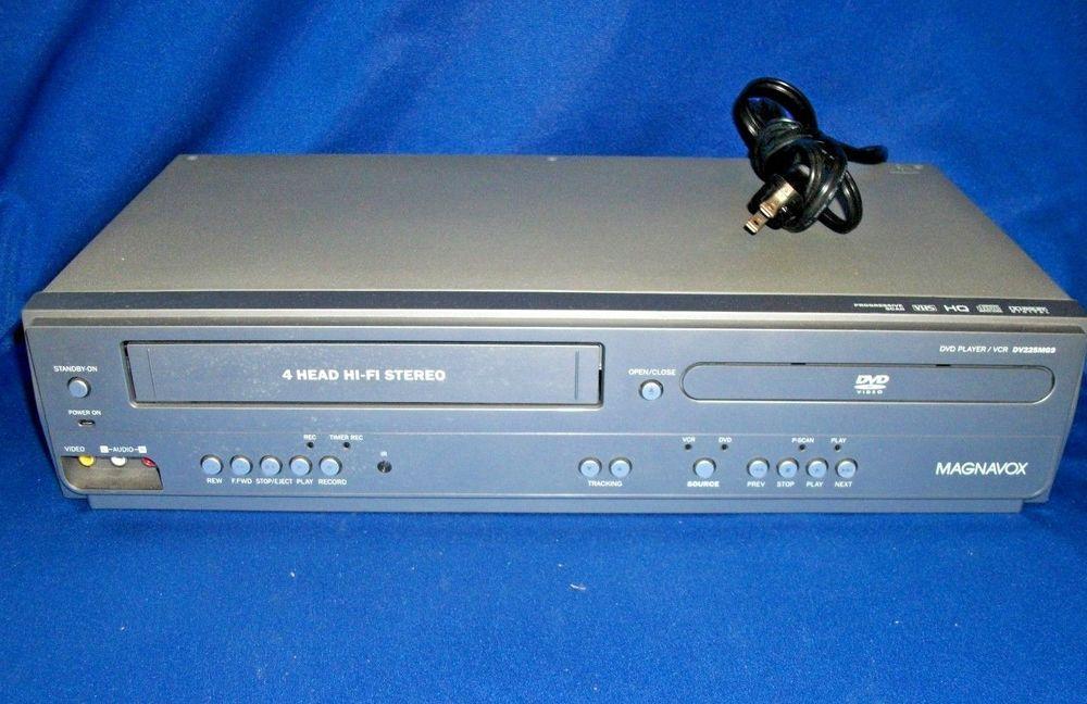 Magnavox DV225MG9 DVD/VCR Combo Player VHS Recorder