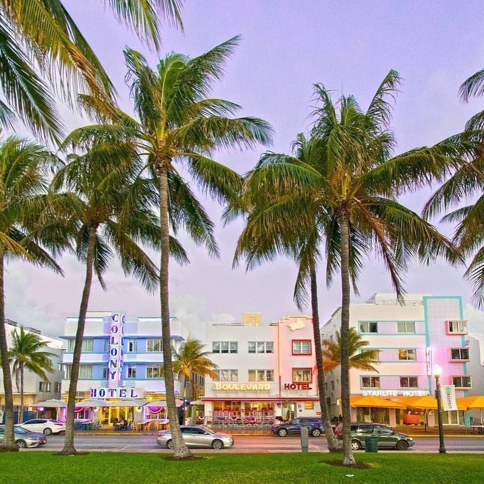 Ocean Drive Miami Beach FL by @nicolehuntah #miami #florida #miamibeach #sobe #southbeach #brickell #miamibeach