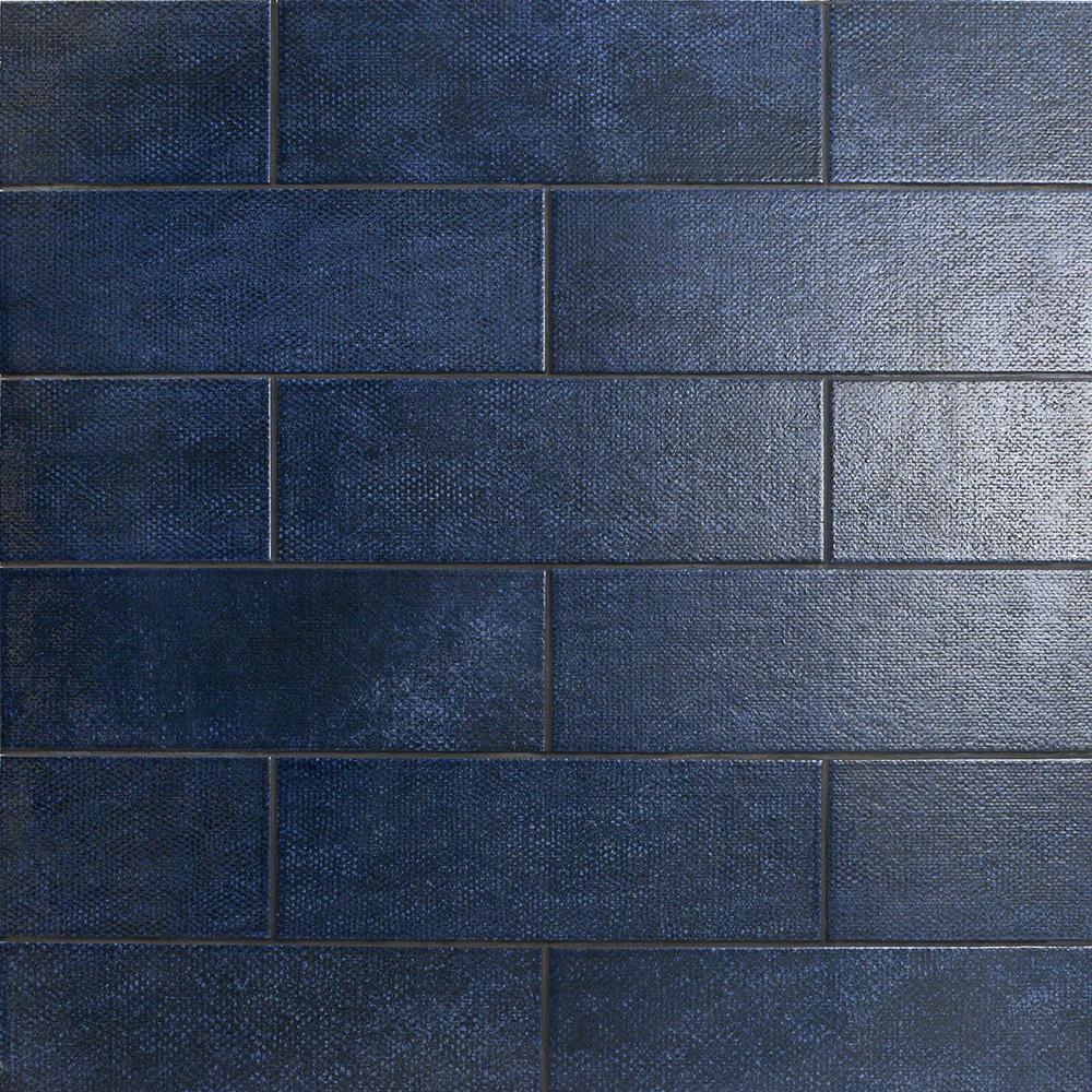 Ivy Hill Tile Piston Camp Blue 4 In X 12 In 7mm Matte Ceramic Subway Wall Tile 34 Piece 10 97 Sq Ft Box Ext3rd100506 The Home Depot In 2020 Ceramic Floor