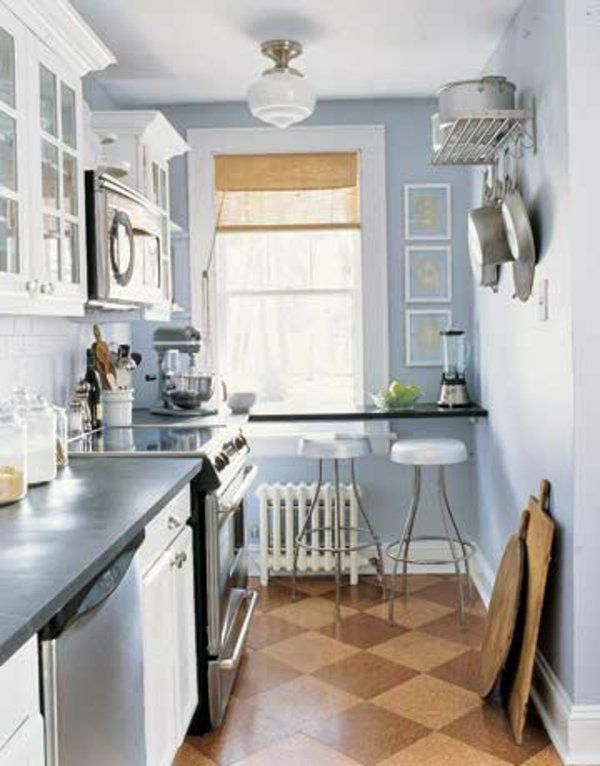 Comment amenager une petite cuisine ? | Condo design, Small spaces ...