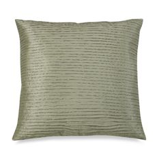 """Julia Pleat 20"""" Toss Pillow - Green"""