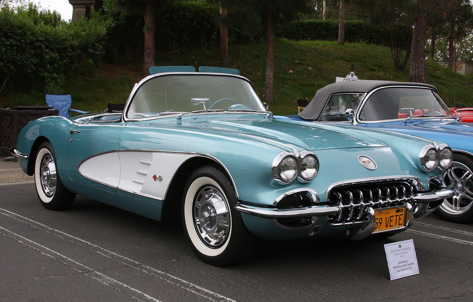 1959 chevrolet corvette fvr chevrolet corvette chevy