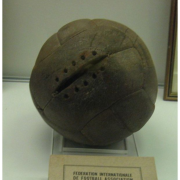 The Official Match Ball Of The 1930 Fifa World Cup In Uruguay 1930 Fifa World Cup Fifa World Cup World Cup