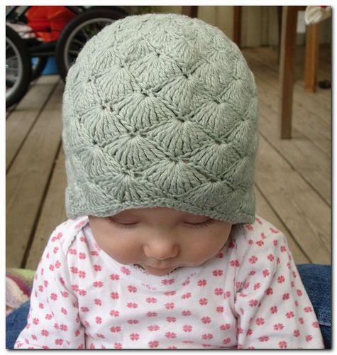 Vintage Bonnet pattern by Sidsel Sangild | Babymütze, Mütze und Häkeln