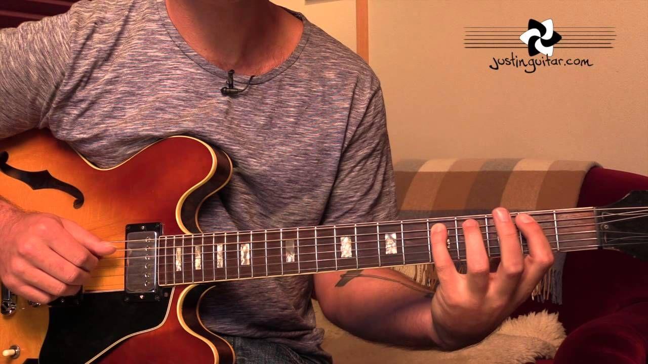 Jazz Walking Bass On Autumn Leaves Sound Alike Guitar Lesson Ja 523 Guitar Lessons Guitar Jazz Guitar Chords
