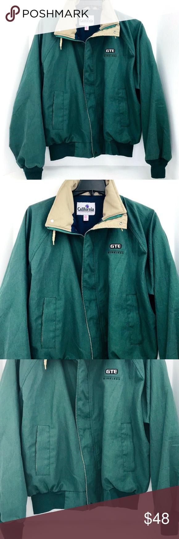Vintage Gte Wireless Xl California Outer Wear How To Wear Outerwear Jackets Bomber Jacket [ 1740 x 580 Pixel ]