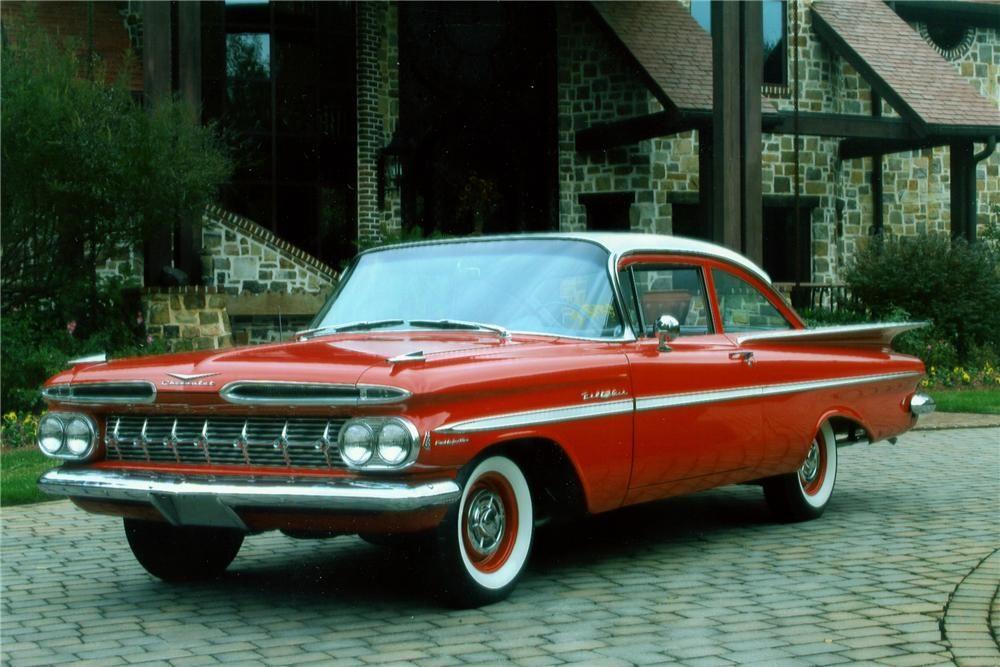 1959 Chevrolet Bel Air 2 Door Sedan Classic Cars Usa Chevrolet Bel Air Chevy Bel Air