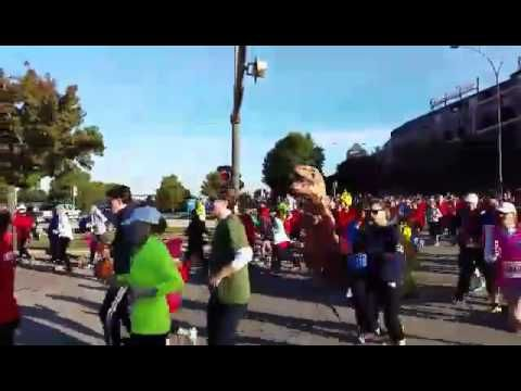 Arlington Turkey Trot 2016 Start