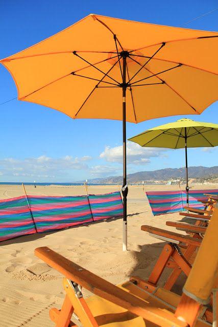 Under A Beach Umbrella Santa Monica California Photo By Mademoie Mermaid