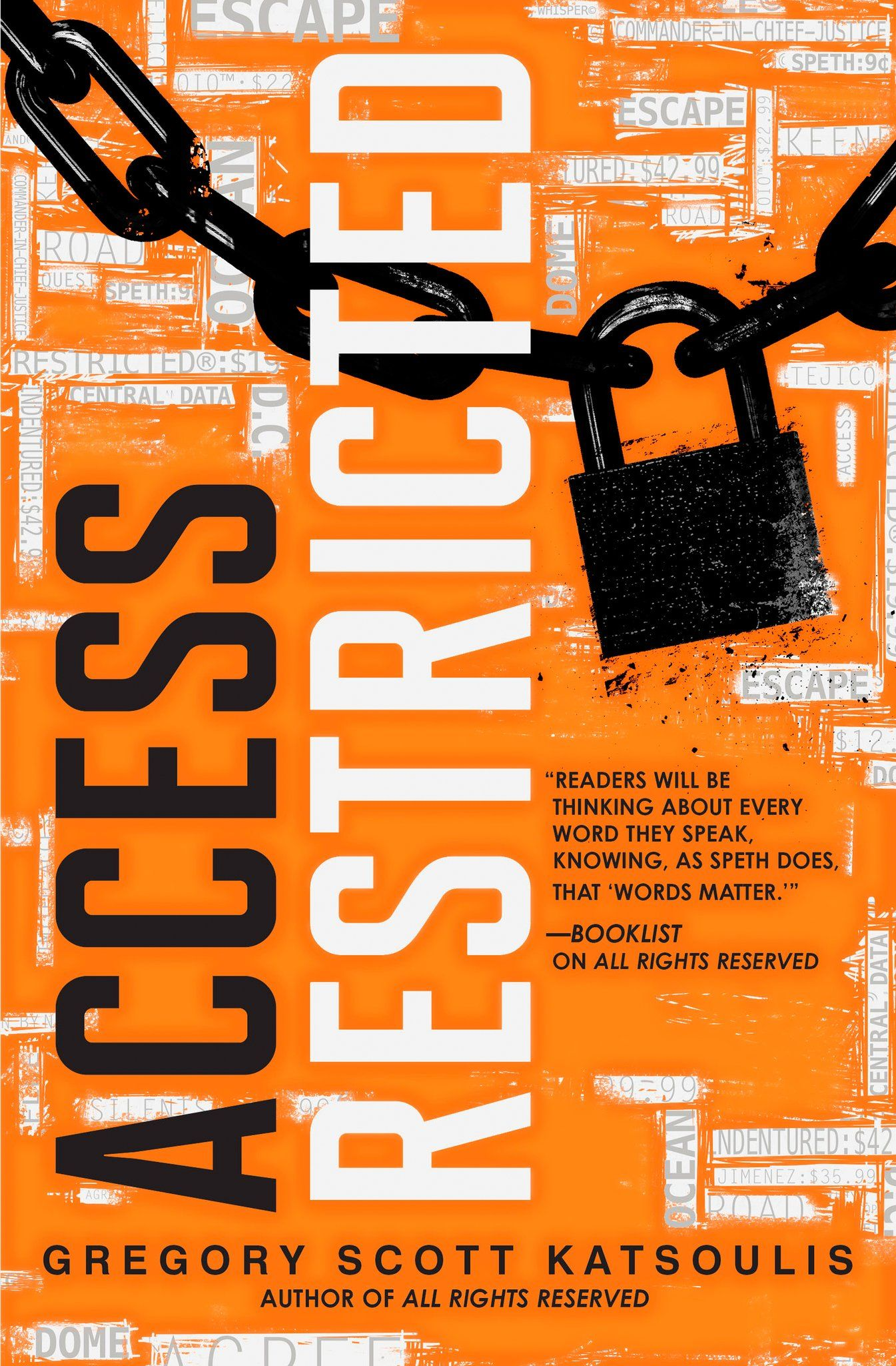 Access Restricted by Gregory Scott Katsoulis Books for
