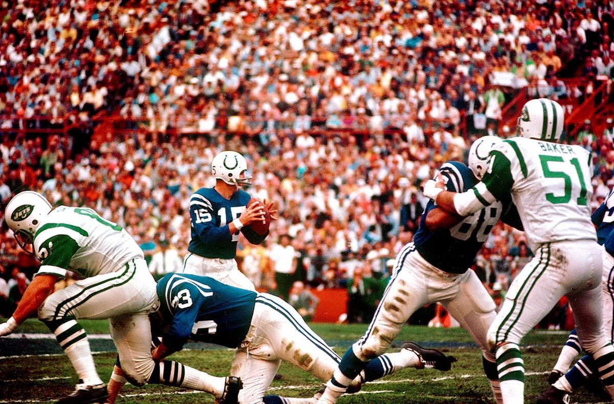 Well Before Nick Foles Earl Morrall Was The Nfl S Greatest Substitute Quarterback Nfl Superbowl Champions Baltimore Colts