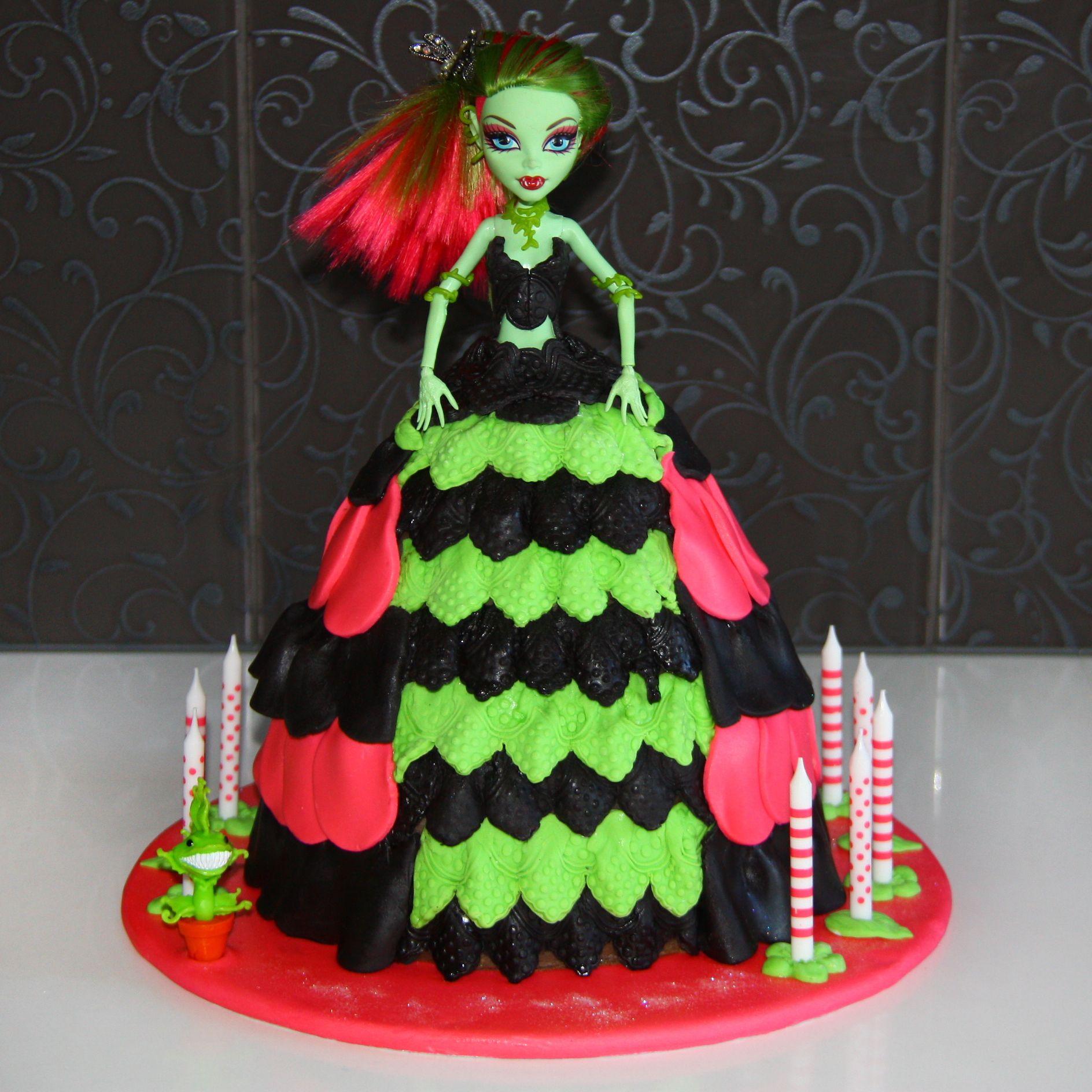 wwwsweetznetau Sweetz cakes brisbane Monster high Dolly varden