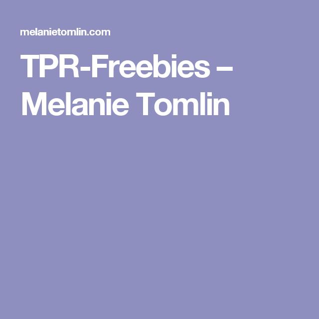 TPR-Freebies – Melanie Tomlin