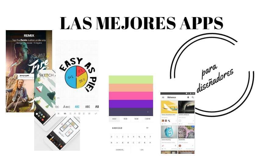 #Utilidades_para_diseño #apps #diseño Las mejores apps para diseñadores
