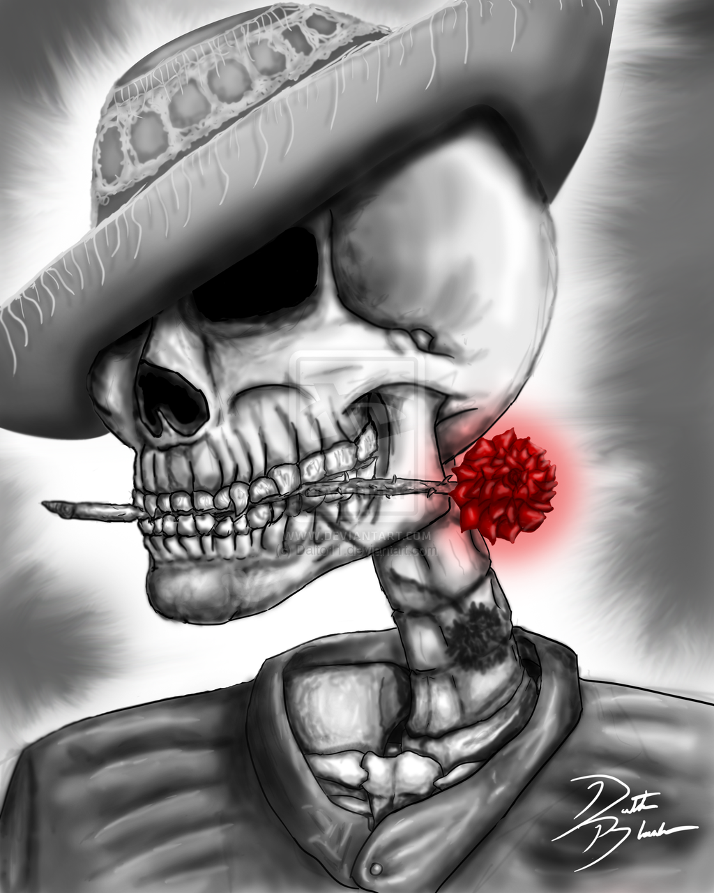 The Day of The Dead by Dalto11