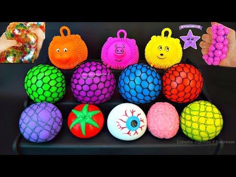 8 Vomitan Huevos Que Dentro De Diferentes Slime Colores Squishy rdtsBoQhCx