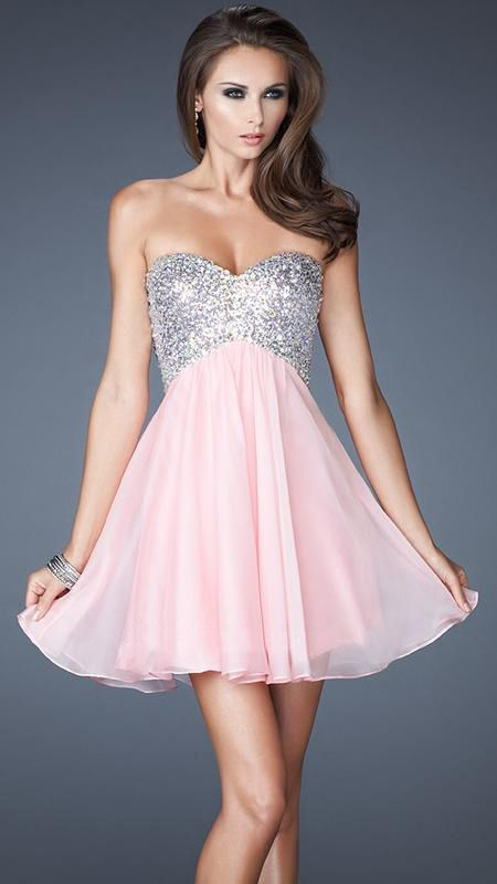 Green Short Homecoming Dresses 2013 Ball Gown