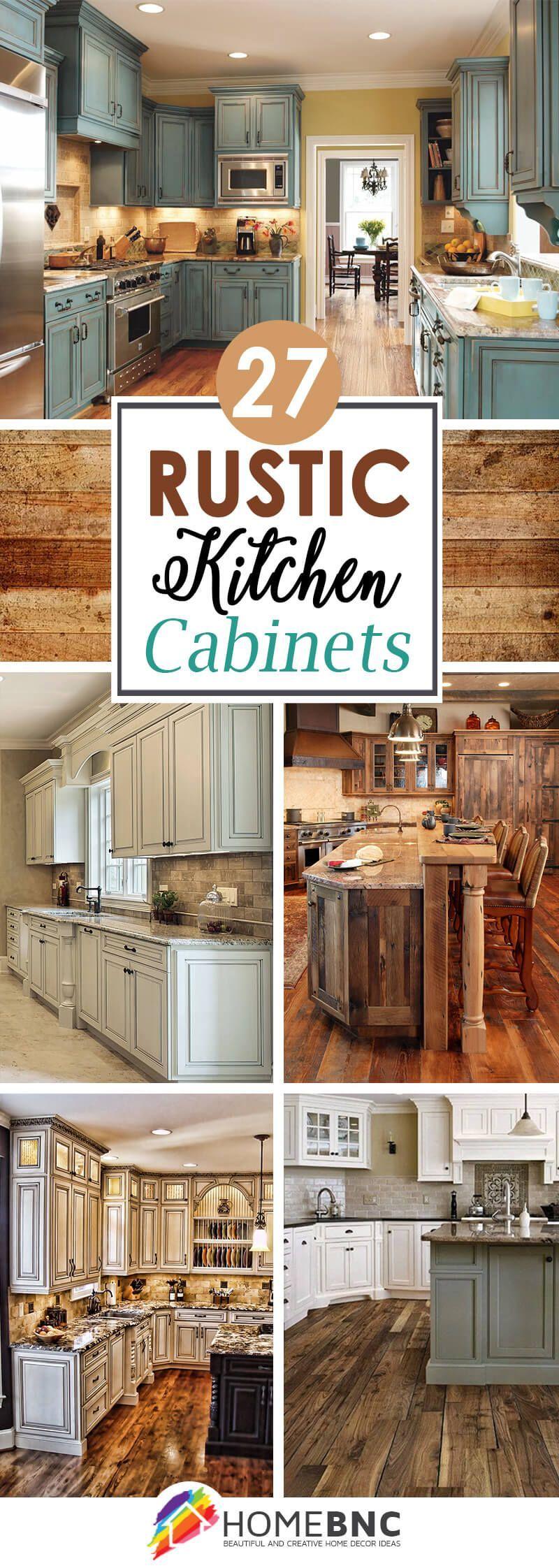 Rustic Kitchen Cabinet Ideas | Kitchen Remodeling | Pinterest ...