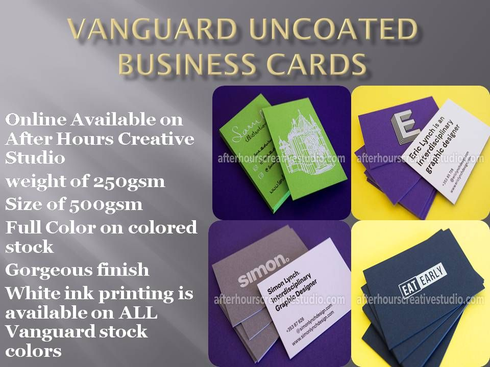 Vanguarduncoatedbusinesscards httpafterhourscreativestudio business cards vanguarduncoatedbusinesscards httpafterhourscreativestudiovanguard uncoated reheart Image collections