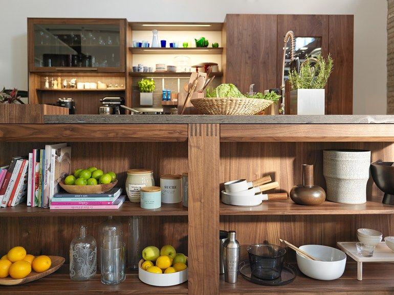 Küche aus Holz mit Kücheninsel LOFT Küche by TEAM 7 - küchen team 7