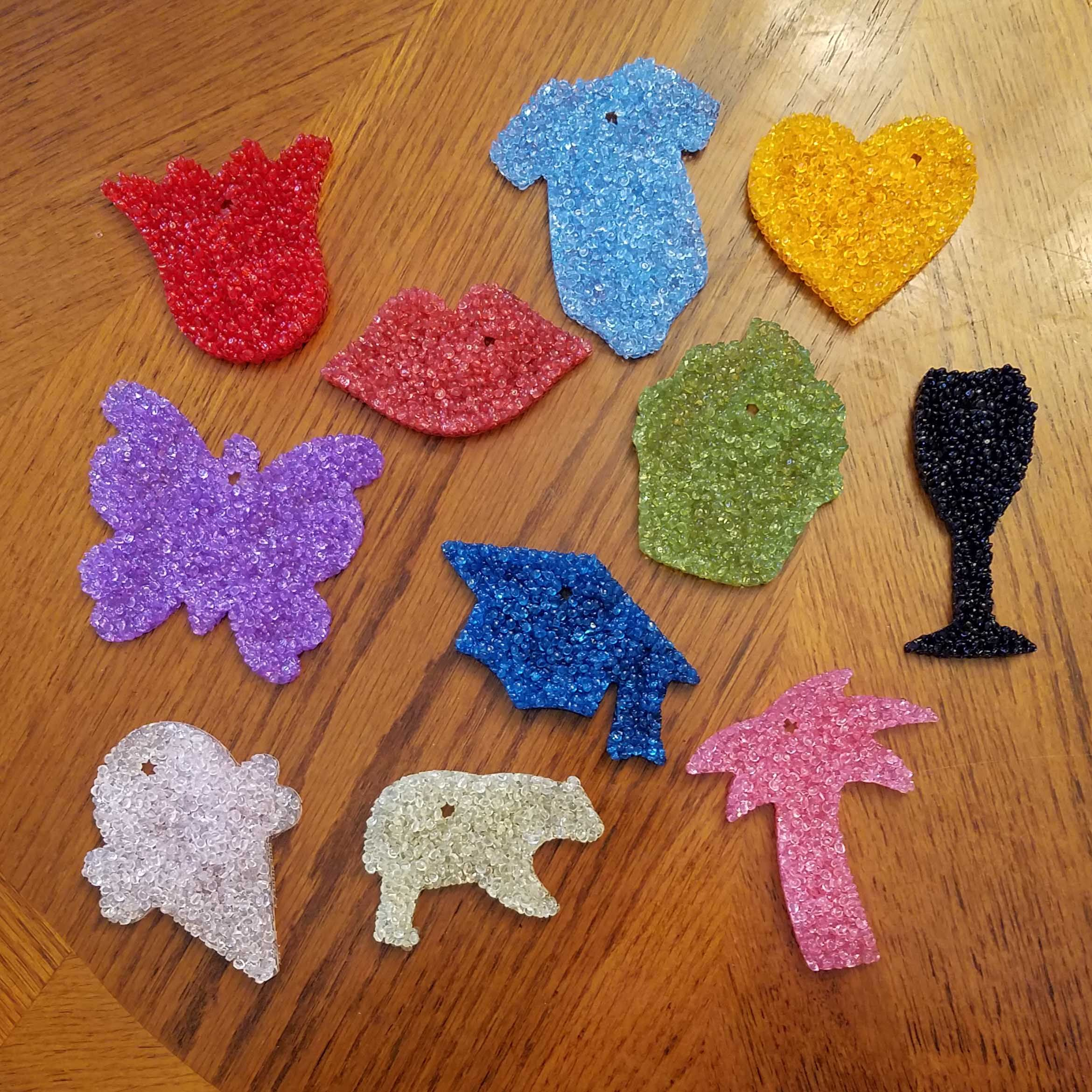 Air fresheners highly scented great for the car or