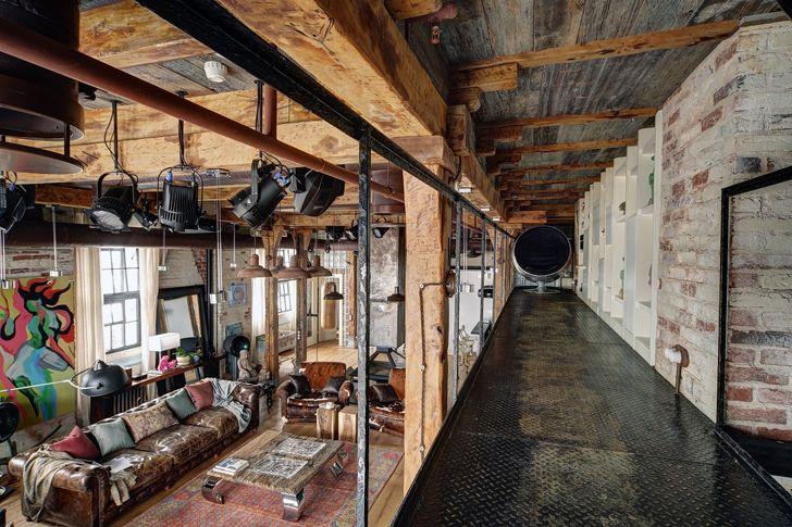 Home Tour: verdadeiro loft rústico   Wohnen