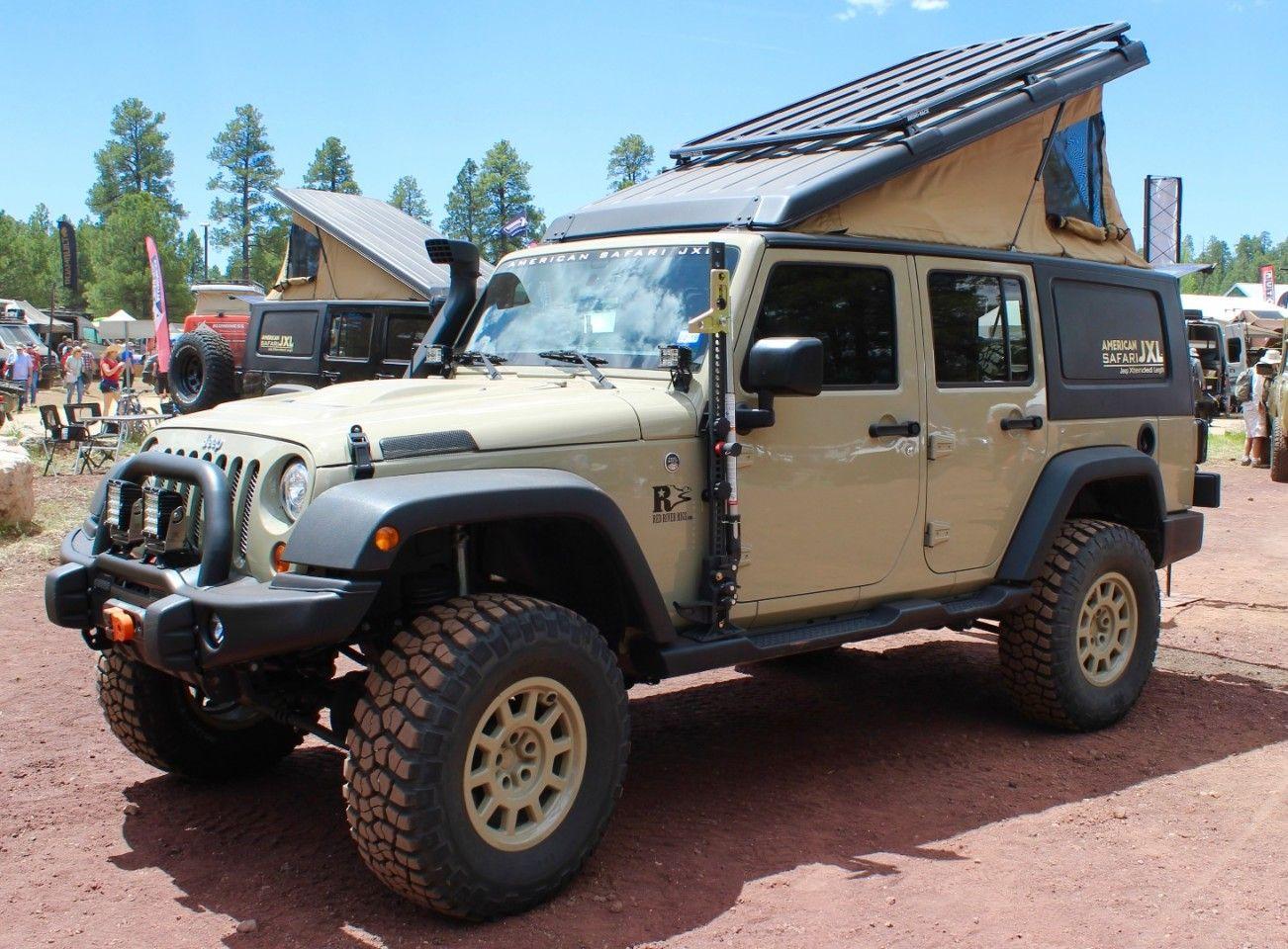 In photos Pickup campers, big rig motorhomes and