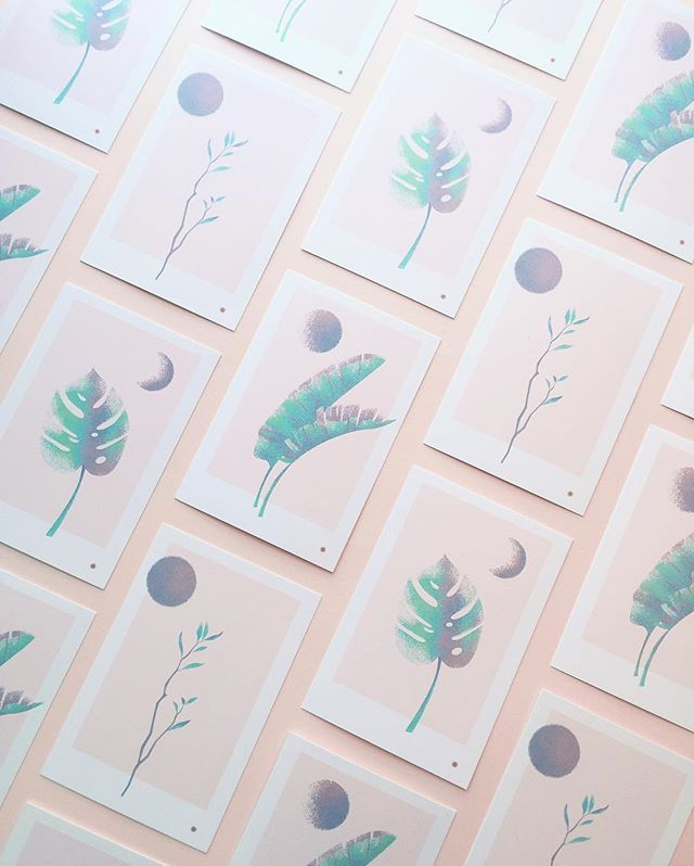 Botanical Post Cards now available in my Etsy shop! Set of 3 custom illustrated…