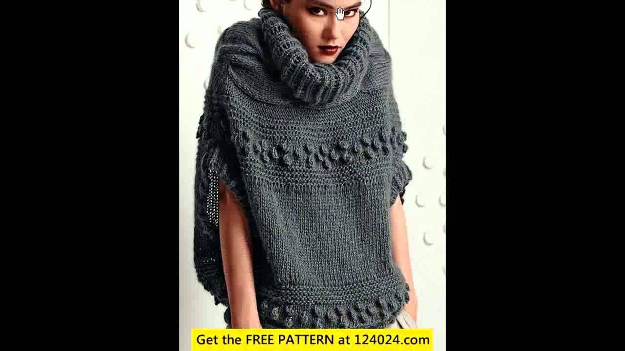 easy crochet poncho pattern   FILMIKI - ZRÓB TO SAM   Pinterest ...