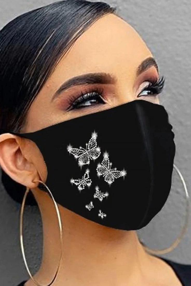 Photo of Rhinestone Face Mask