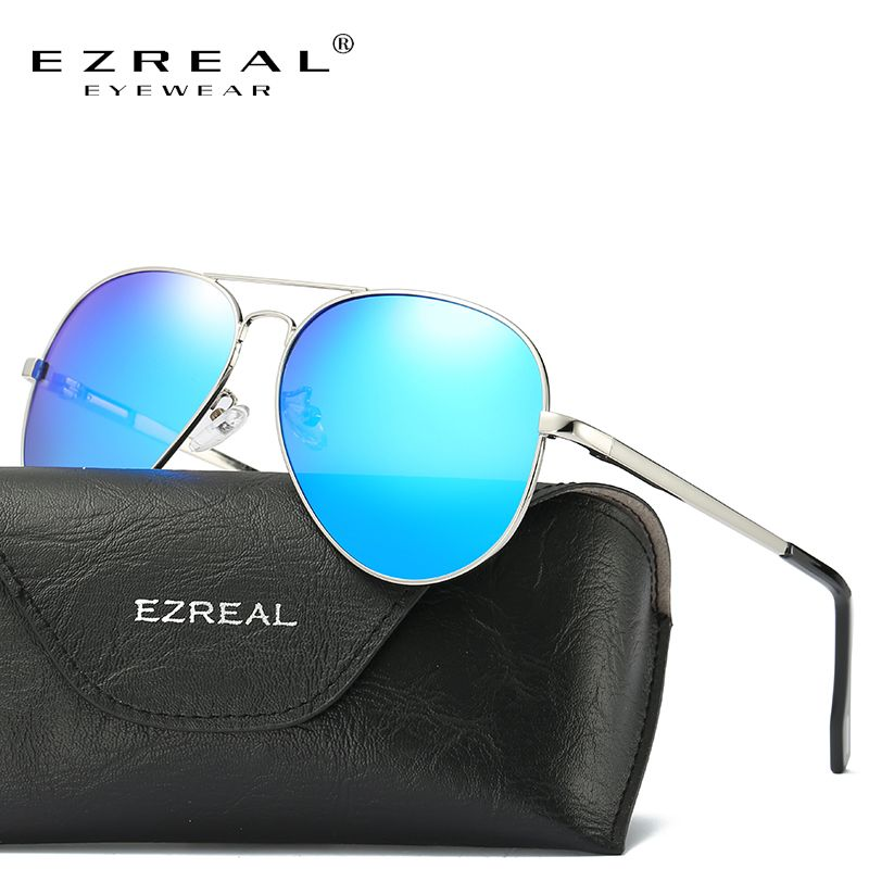 93006978a30bb Encontre mais Óculos de sol Informações sobre Homens EZREAL HD Óculos  Polarizados Óculos de Sol Das Mulheres Dos Homens Clássico Retro Tons  Rebite Marca ...